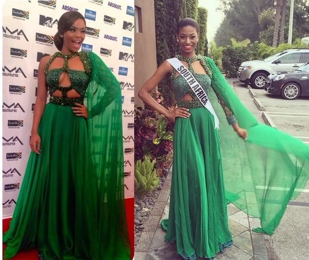 Who Wore It Best Queen B Vs Miss South Africa Jozi Gist