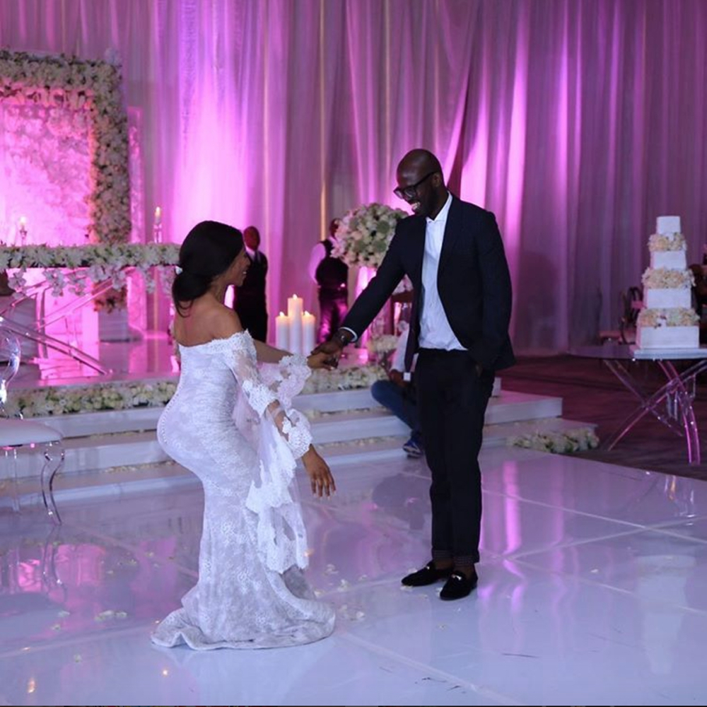 Watch Black Coffee Dancing For Enhle At Their Wedding Jozi